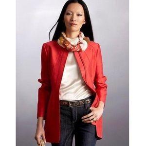 {Banana Republic} Orange Silk Blend Jacket